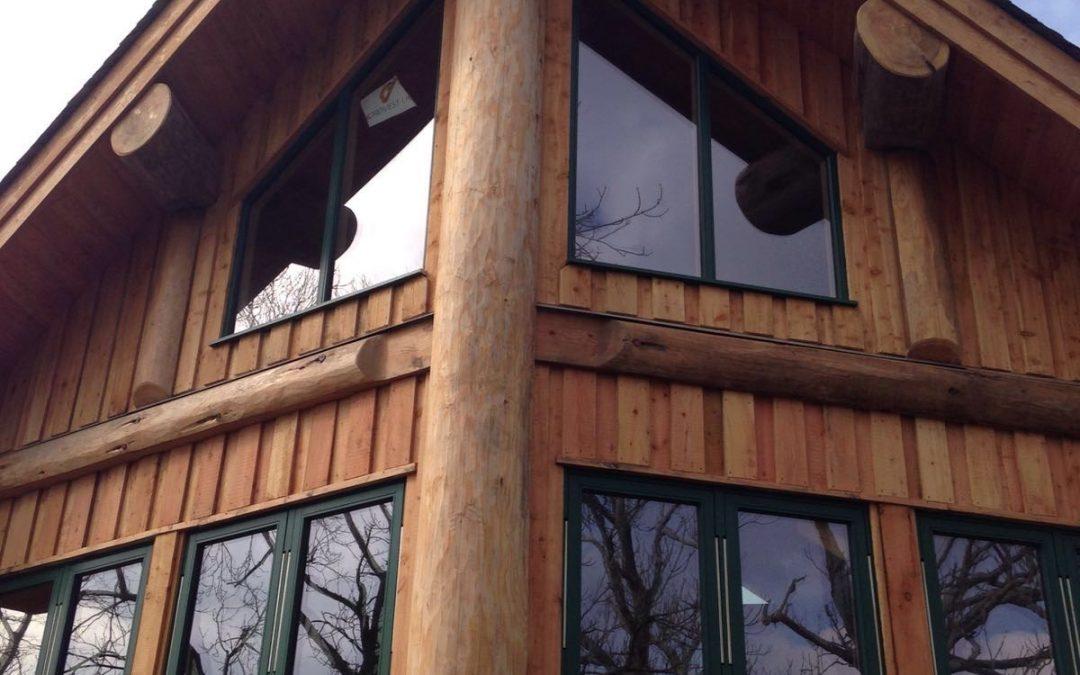 Tim and Helen's Lake District log home