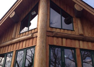 Tim and Helen's Lake District log home