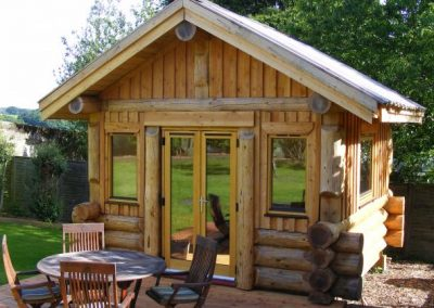 Kate & Jock's Log Garden Studio