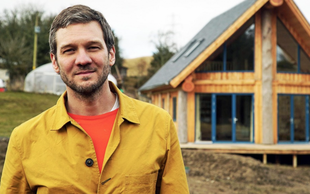 Caledonia Log Homes feature on MORE4 Impossible Builds