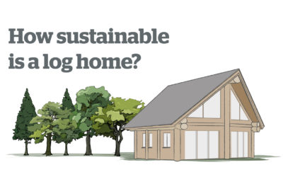 Low carbon living – The carbon footprint of a log home